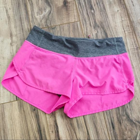 Lululemon Athletica Shorts Lululemon Speed Up Short Hot Pink Size 4 Poshmark